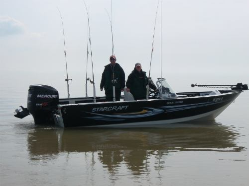 Starcarft STX 2050 powered by a Mercury 225hp Pro XS will be your ride